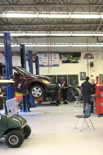 Automotive Service Students