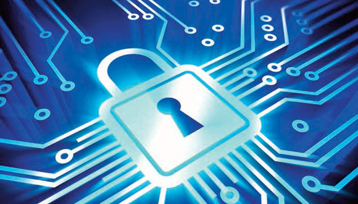 Blue Cyber Security Circuits